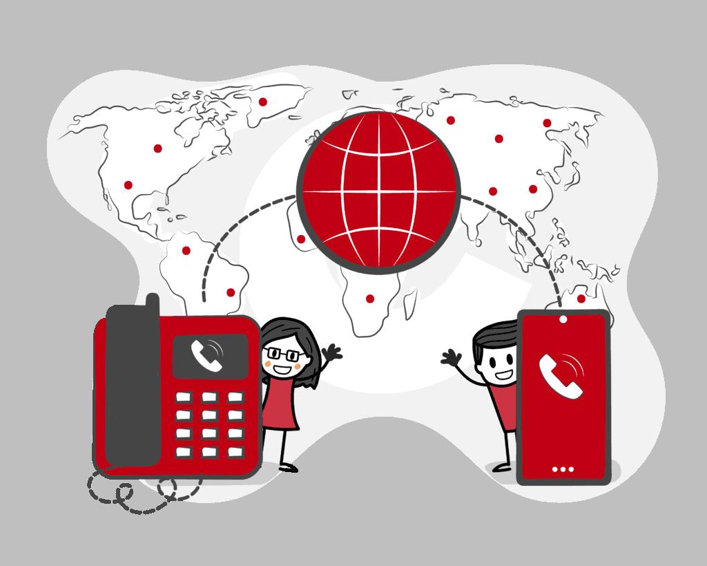 Slimme digitale telefonie